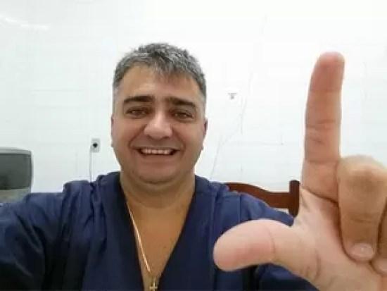 Médico Leonard Macedo, de 43 anos (Foto: G1/RN)