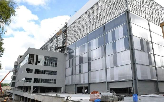 Fachada da Arena da Baixada foi completamente modificada (Foto: Divulgação/Site Oficial do Atlético-PR)