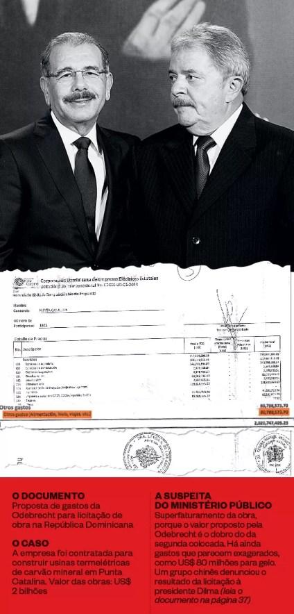 AMIGOS O ex-presidente Lula em encontro com o presidente da República Dominicana, Danilo Medina, em janeiro de 2013. Lula foi dar uma palestra em premiação a jovens do país (Foto: Heinrich Aikawa/Instituto Lula)