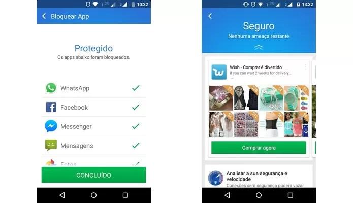 Tela final com todos os vírus e problemas eliminados do Android (Foto: Reprodução/Raquel Freire)