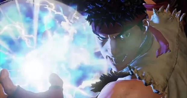 Ryu em vídeo de apresentação do novo 'Street Fighter V', publicado pela Capcom. (Foto: Reprodução/YouTube.com)