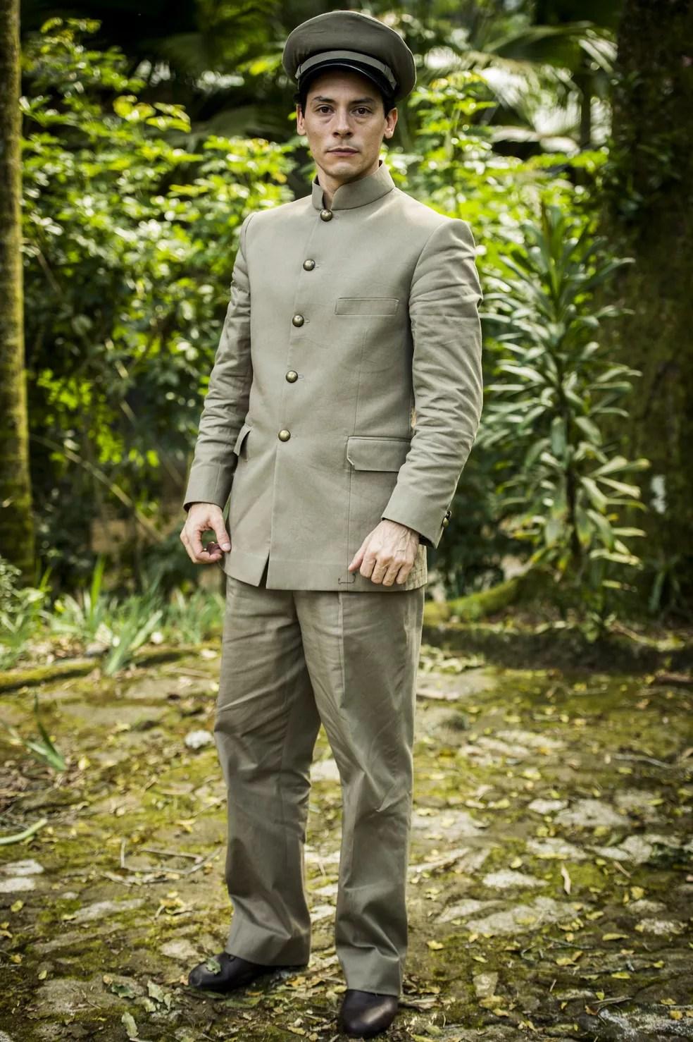 Cristiano Garcia como Gregório em Tempo de Amar (Foto: João Miguel Junior/Globo)