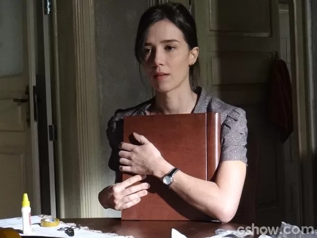 Até onde vai a obsessão de Cora por José Alfredo?  (Foto: Império/TV Globo)