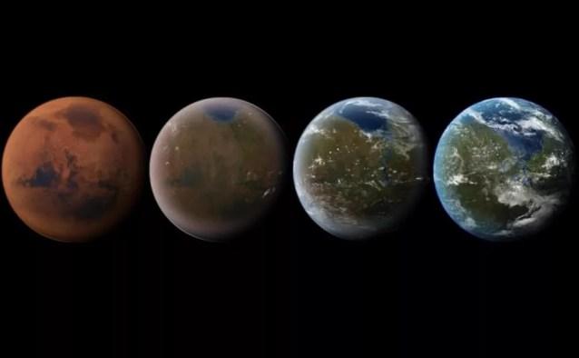 Processe de terraformação quer deixar Marte mais habitável, como a Terra (Foto: Daein Ballard)