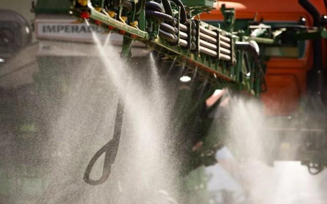 Indústria de agroquímicos e agências reguladoras garantem que, desde que consumidos em limites baixos e aplicados conforme a lei, os agrotóxicos são seguros para a saúde — Foto: Érico Andrade/G1