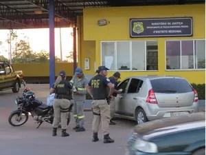 PRF do Amapá monitora rodovias para evitar violências no trânsito (Foto: PRF/Divulgação)
