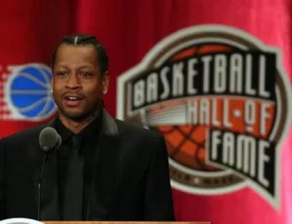 Allen Iverson entrou para o Hall da Fama da NBA (Foto: Getty Images)