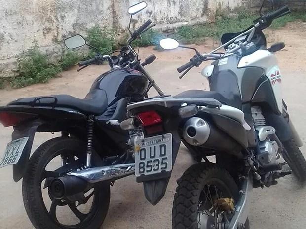 Assaltante foi registrar boletim de ocorrência de moto roubada e acabou preso (Foto: Divulgação/ Polícia Civil)