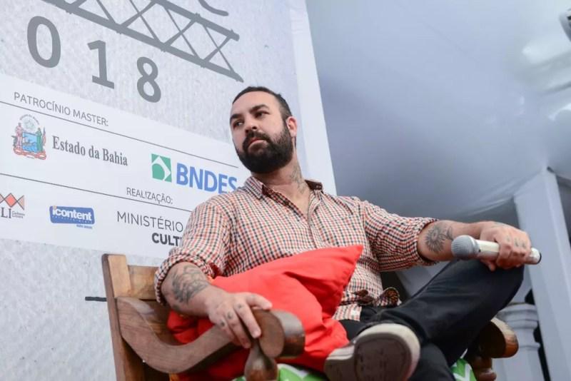 Zack Magiezi na Flica 2018 — Foto: Ricardo Prado/Divulgação