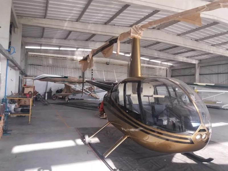 Justiça determinou sequestro de helicópteros dentro de megaoperação da PF contra tráfico de drogas — Foto: Polícia Federal/Divulgação