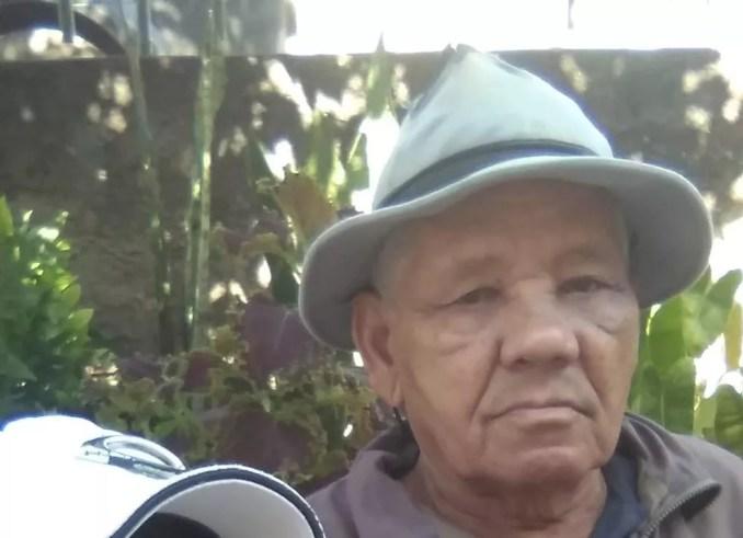 Marinho Lúcio de Araújo, de 78 anos, morreu de Covid-19 cinco dias depois da filha. — Foto: Arquivo pessoal
