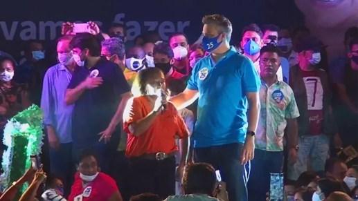 Convenção do Democratas confirma candidatura de Neto Evangelista à prefeitura de São Luís — Foto: Reprodução/Redes Sociais