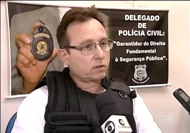 Delegado confirmou que imagens mostram ato libidinoso (Foto: Reprodução / TV Clube)