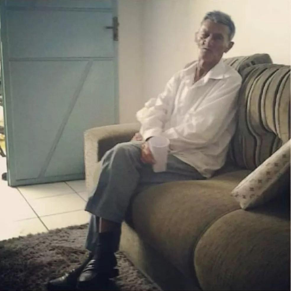 Francisco Xavier de Sousa, de 92 anos, morreu de Covid-19 à espera de um leito de UTI em Teresina. — Foto: TV Clube/ Érica Sousa