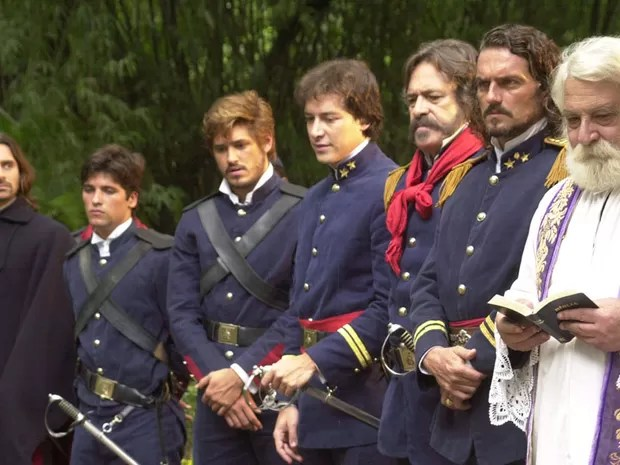 Trama mostra os bastidores da revolta conhecida como Guerra dos Farrapos (Foto: CEDOC/TV Globo)
