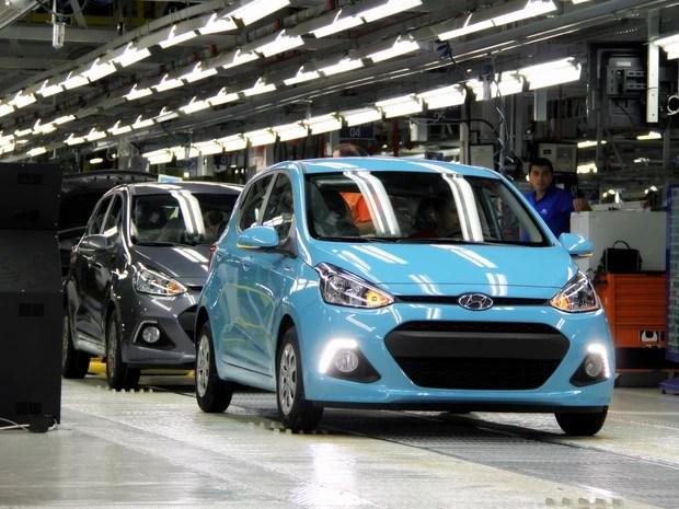 Hyundai i10 (Foto: Divulgação)