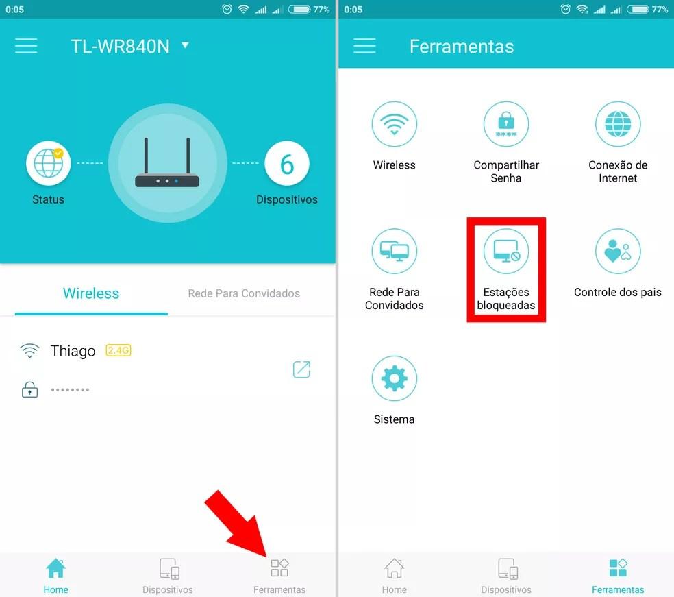 print-5 Como saber quem está usando seu Wi-Fi e bloquear com o app Tether TP-Link