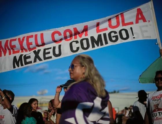 Faixa em apoio a Lula em Ouricuri (Foto: Adriano Machado/ÉPOCA)