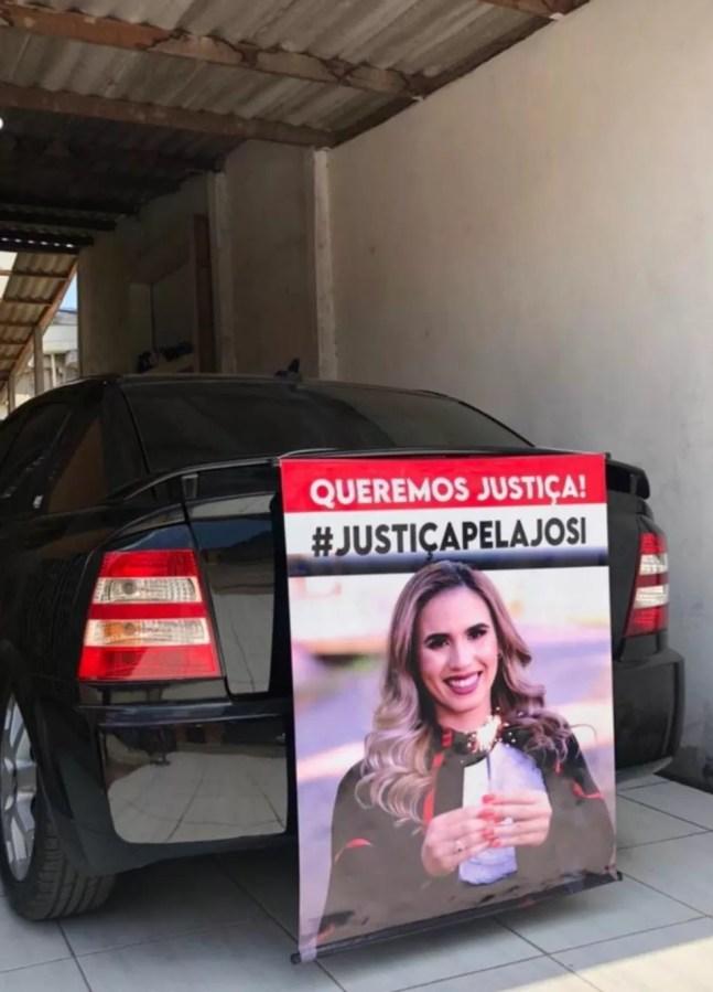 Amigos pedem justiça por Josi, morta em acidente em Rio Branco — Foto: Arquivo pessoal