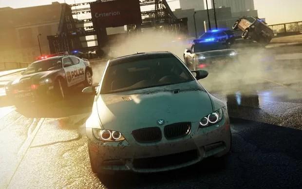 Imagens do jogo 'Need For Speed Most Wanted', da Eletronic Arts, apresentado na E3 (Foto: Divulgação)