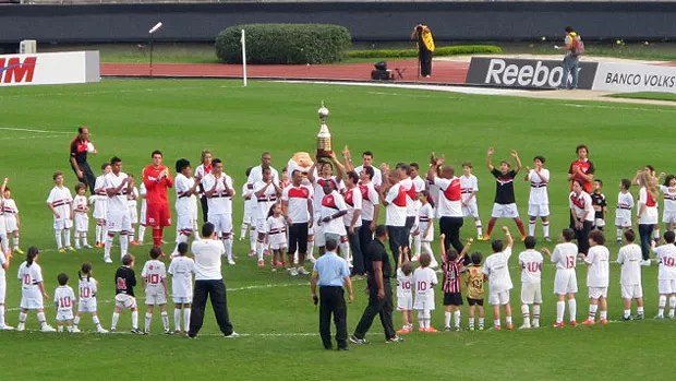 homenagem ídolos São Paulo 92 (Foto: Marcelo Hazan / Globoesporte.com)