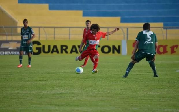 Apagado em boa parte do jogo, Boa Esporte deixou escapar sonho do acesso (Foto: Tiago Campos)