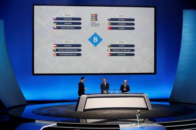 Seleções da liga B lutarão para chegar à elite da Uefa (Foto: Pierre Albuoy/ Reuters)