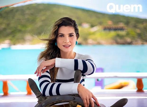Flávia Alessandra (Foto: Dêssa Pires/ Ed. Globo)