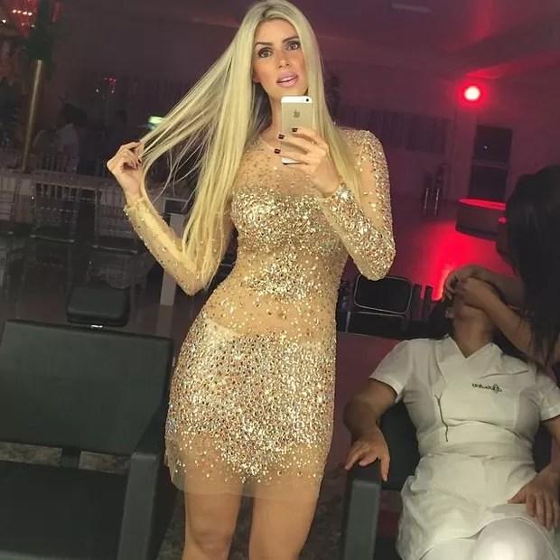 Thábata Mendes (Foto: Reprodução)