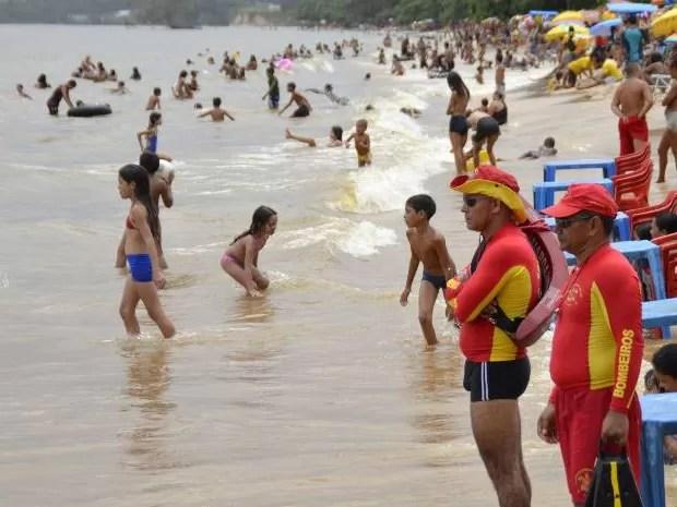 Afogamentos e acidentes com animais marinhos lideraram ocorrências no Pará, segundo balanço divulgado pelo Corpo de Bombeiros nesta segunda-feira (6). (Foto: Divulgação/Agência Pará)