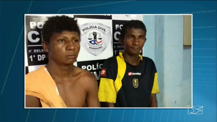 Francinaldo de Sousa Silva e Fábio de Sousa Silva foram transferidos para o presídio regional da cidade de Codó (Foto: Reprodução/TV Mirante)