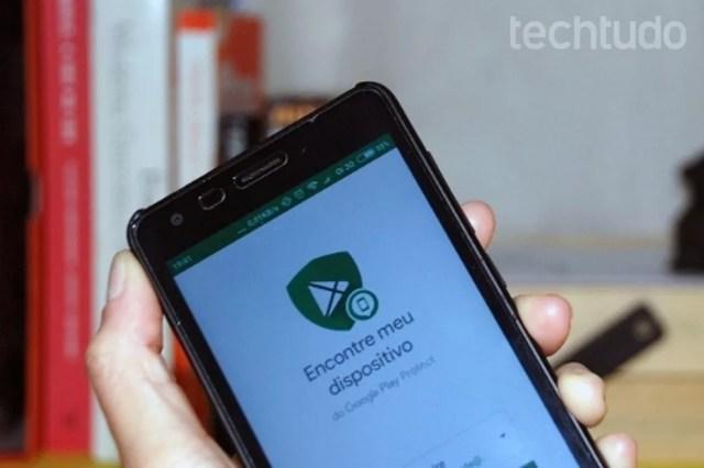 Aprenda a usar o app do Google para encontrar celulares Android perdidos (Foto: Raquel Freire/TechTudo)