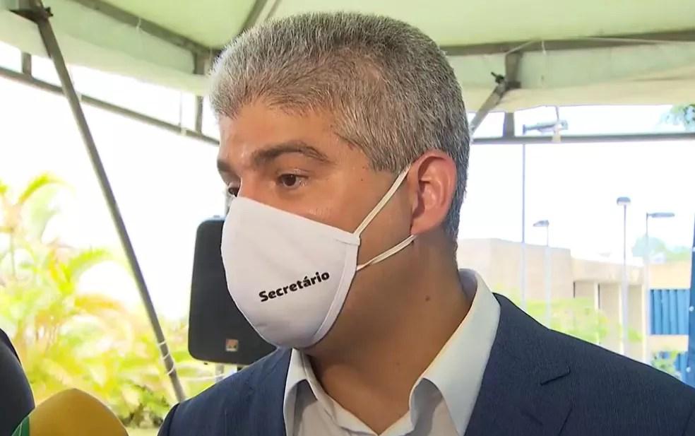 Maurício Barbosa, secretário da Segurança Pública da Bahia, foi exonerado do cargo após a Operação Faroeste — Foto: Reprodução/TV Bahia