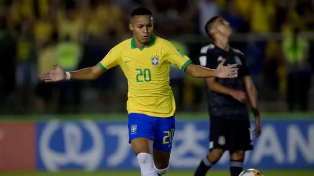 Lázaro gol Brasil seleção brasileira sub-17 México