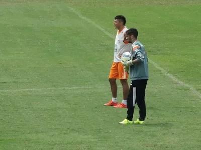 Gustavo Scarpa goleiro Fluminense (Foto: Fred Gomes / GloboEsporte.com)
