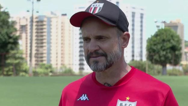 Wagner Lopes negocia com o Vitória — Foto: Reprodução/EPTV