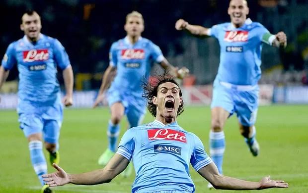 Cavani gol Napoli Torino (Foto: AFP)