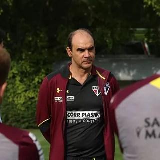 Ricardo Gomes São Paulo (Foto: Rubens Chiri/saopaulofc.net)