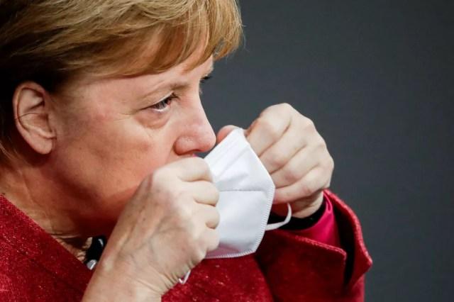A chanceler alemã, Angela Merkel — Foto: Hannibal Hanschke/Reuters