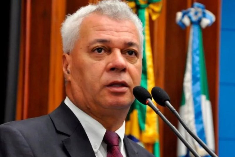 Cabo Almi, deputado estadual pelo PT — Foto: Luciana Nassar/Assembleia Legislativa de MS