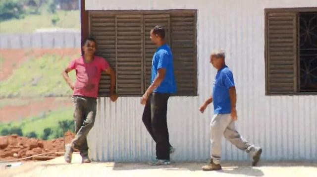 Goleiro Bruno cumpre pena em Varginha — Foto: Reprodução/EPTV