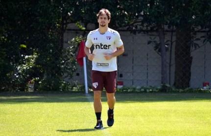 Rodrigo Caio foi convocado seis vezes por Tite e fez três jogos pela seleção brasileira (Foto: Érico Leonan / saopaulofc.net)