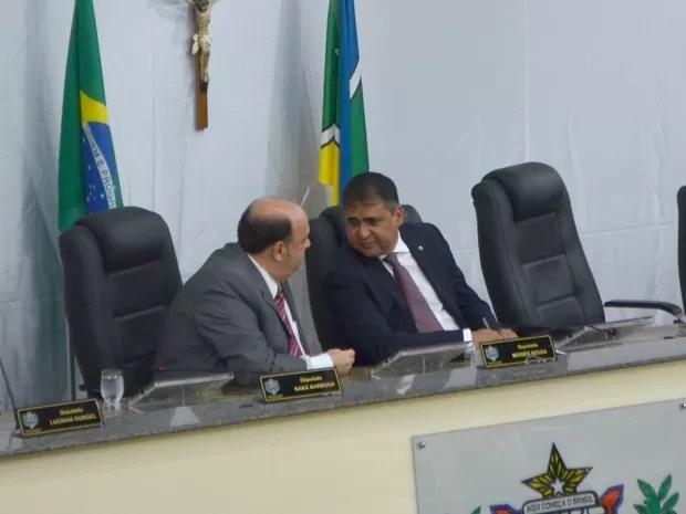 Moisés Souza vai dividir presidência com Kaká Barbosa (Foto: Abinoan Santiago/G1)