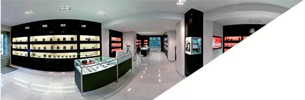 Loja em Berlim: após ser separada das outras marcas, a Leica passou a vender 30% a mais (Foto: Divulgação)