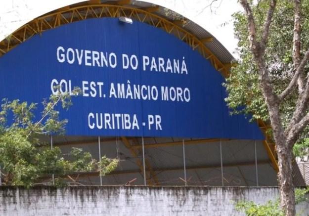 Colégio fica no bairro Jardim Social — Foto:  Wagner Araújo/Divulgação/TCE-PR