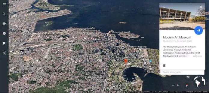 O Rio de Janeiro fica ainda mais bonito em 3D (Foto: Reprodução/Pedro Cardoso)