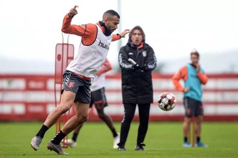 Fransérgio foi jogador de Sá Pinto no Braga — Foto: Divulgação/Braga