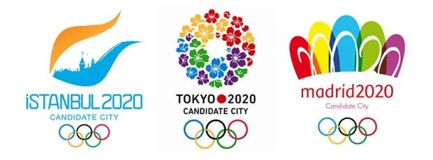 Cidades candidatas à sede das Olimpíadas de 2020 (Foto: Divulgação/COI)