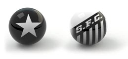 Confrontos guia da rodada bolas - Botafogo x Santos (Foto: Editoria de Arte)