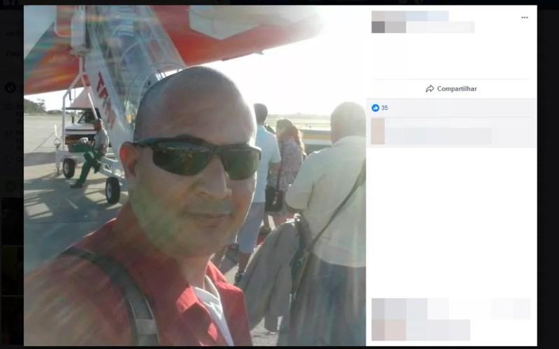 Sargento da PM morreu após troca de tiros com suspeitos na Bahia (Foto: Reprodução/Facebook)